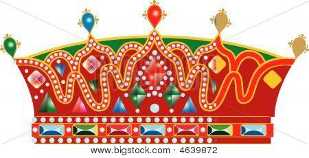 Medieval Slavic Royal Crown