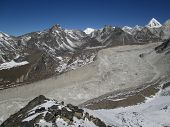 Nuptse Glacier, View From Chhukhung Ri