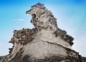 foto of xerxes  - Strange Natural cliff formation like big bird - JPG