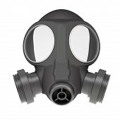 stock photo of rubber mask  - Gas mask - JPG