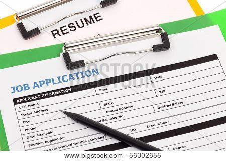 Job Application And Resume