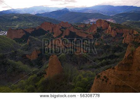 Las médulas, Bierzo, Spain