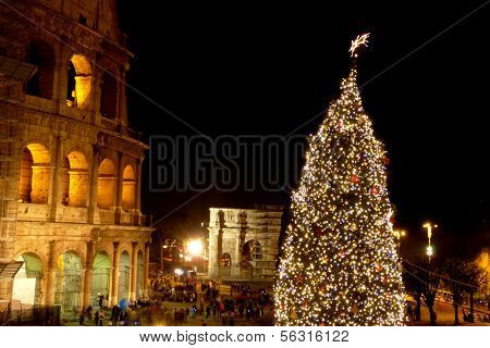 Season's Greetings From The City Of Rome - Italy