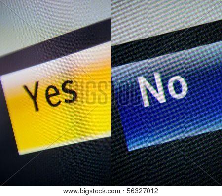 Ja und Nein