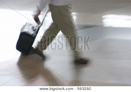 Man At The Airport