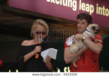 Becky Newton & Michael Urie
