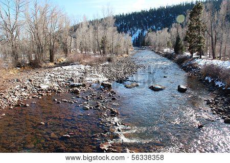 Winter on Florida River in Durango