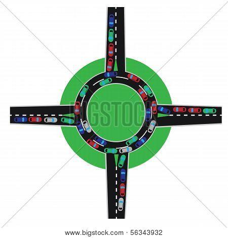Traffic Jam Traffic Circle