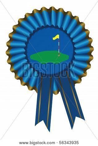 Blue Ribbon Golf Green