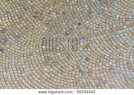 Granite Cobblestone Street Pavement