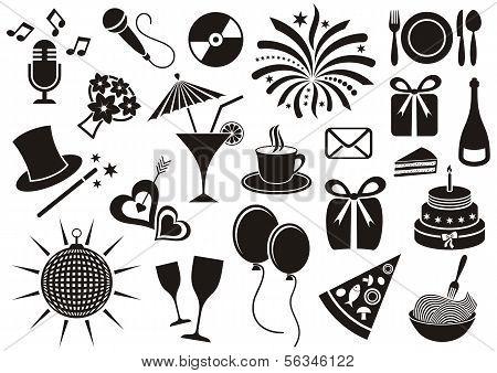 Party pictogrammen