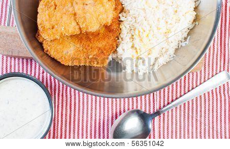 deep fried dory