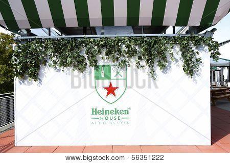Heineken Beer House at Billie Jean King Tennis Center during US Open 2013