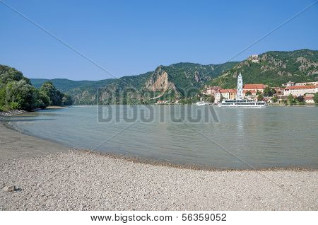 Wachau Valley,Danube River,Austria
