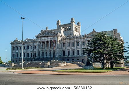 Houses Of Parliament in Montevideo