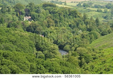 River Dart valley