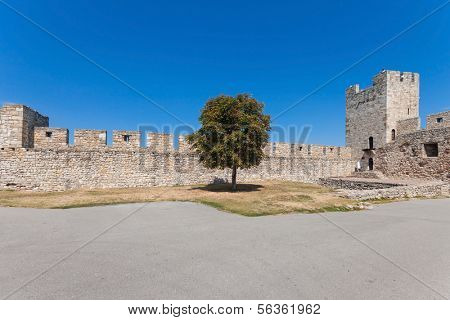 BELGRADE, SERBIA - AUG 15: Despot Stefan tower in Belgrade fortress on August 15, 2012 in Belgrade, Serbia. It is popular, unique museum of the history of Belgrade.