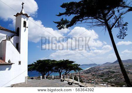 Porto Santo View From Senhora Da Graca Chapel