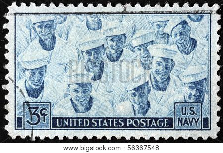 Us Navy Stamp