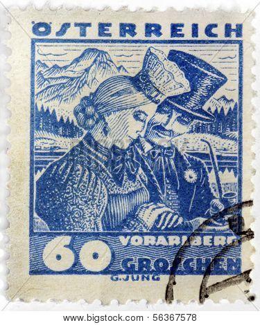 Vorarlberg Stamp