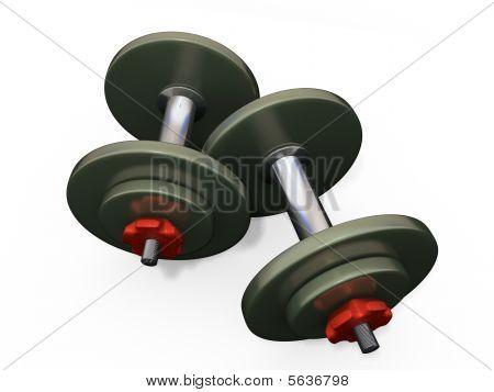 Dumb-bells 3D