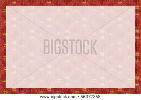 Red and Gold Brocade Background