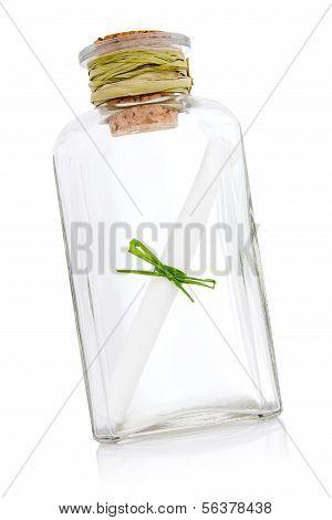 Rolagem mensagem na garrafa