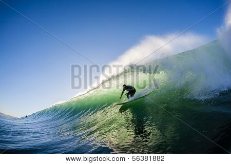 Surfing Water Action