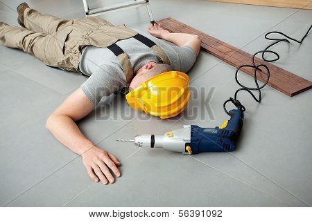 Workman Injured At Work