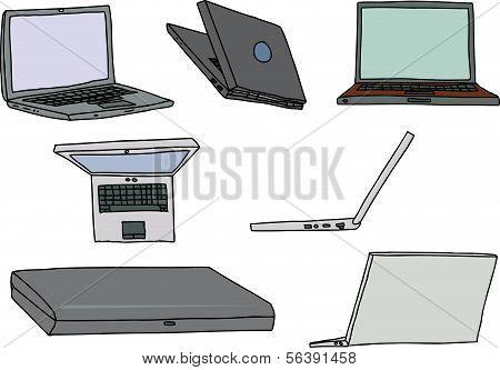 Set Of Laptops