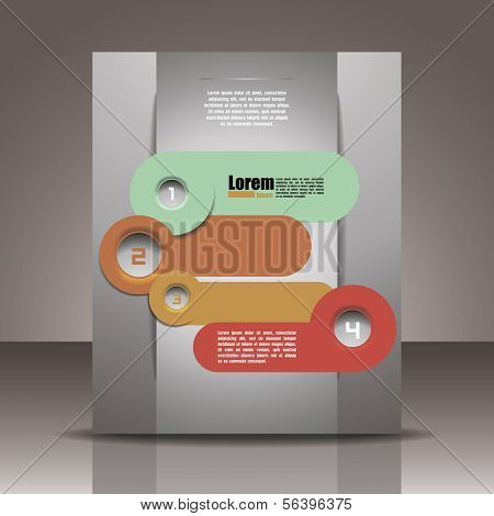 Banner template. corporate brochure or cover design, can be use for publishing, print and presentation.