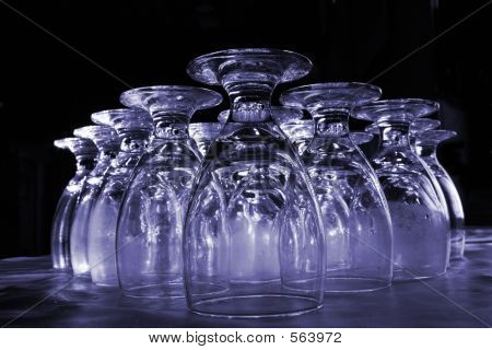 Drink Glasses Colorized
