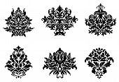 Floral and foliate design elements