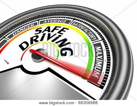 Safe Driving Conceptual Meter