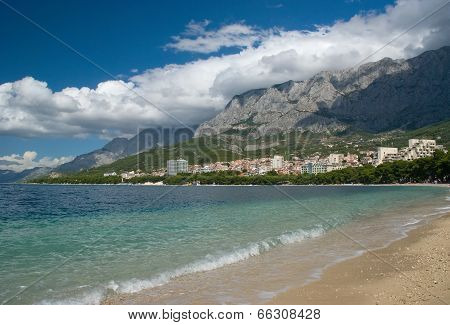 Adriatic Sea Near Makarska