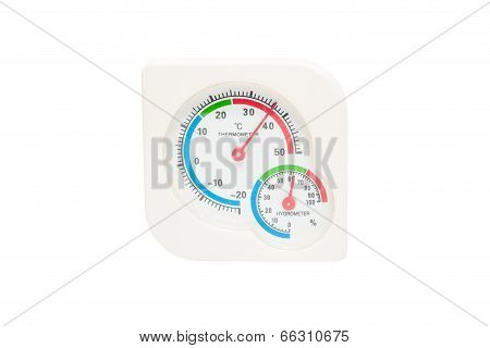Hygrometer, Thermometer All In One