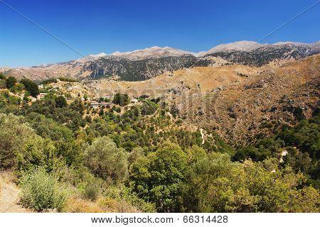 Mountains on Crete