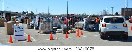 erecycling event in Ann Arbor, MI