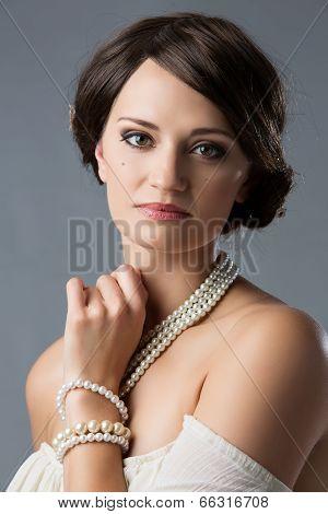 Beautiful Vintage Girl
