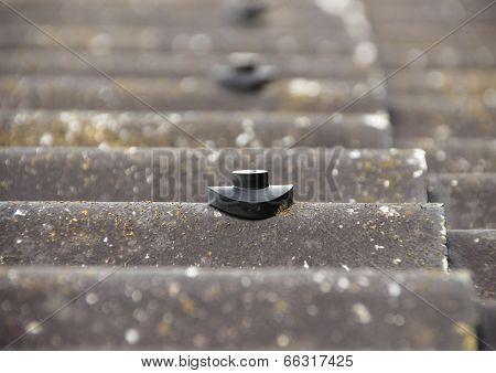 Screw Protection Stud On Asbestos Roof
