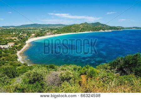 South coast of Sardinia