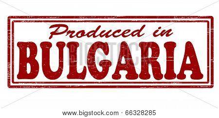 Produced In Bulgaria