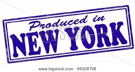 Produced In New York