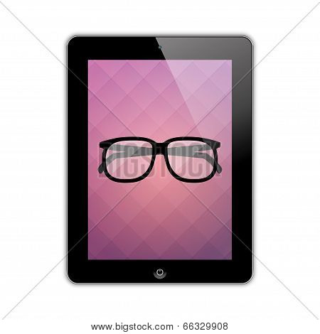 Glasses On The Screen