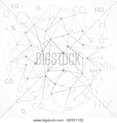 Chemical Abstract Background