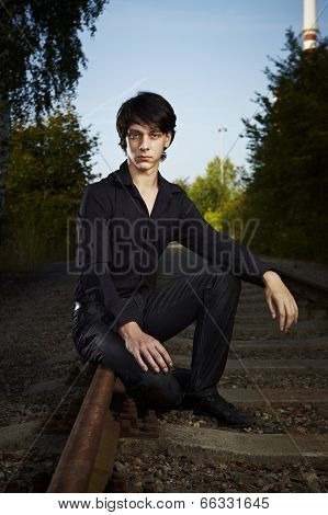 Sittin On The Railway