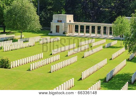Buttes New British Cemetery World War 1