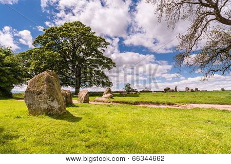 Circle Of Standing Stones