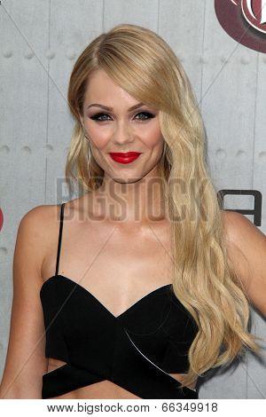 LOS ANGELES - JUN 7:  Laura Vandervoort at the Spike TV's