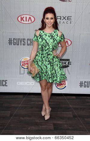 LOS ANGELES - JUN 7:  Jillian Rose Reed at the Spike TV's